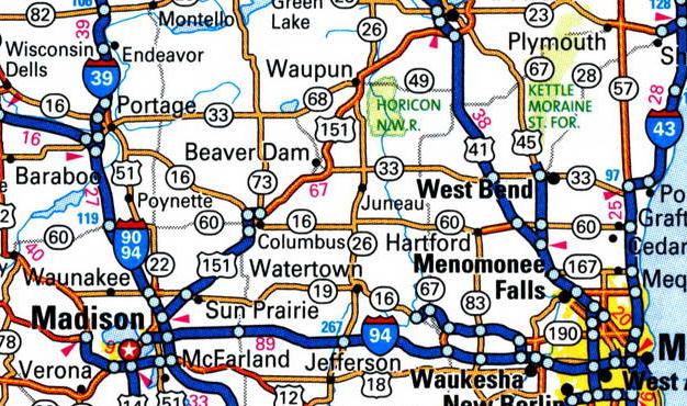 highway 33 beaver dam